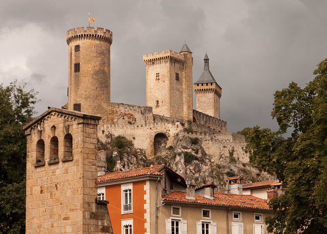 The three towers at Foix