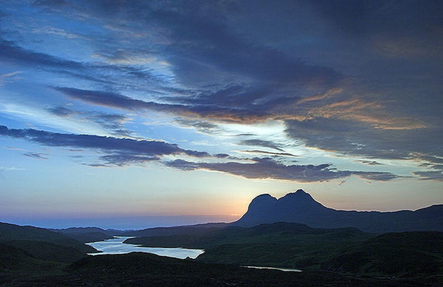 Suilven Sunset, Elphin, Sutherland, Scottish Highlands