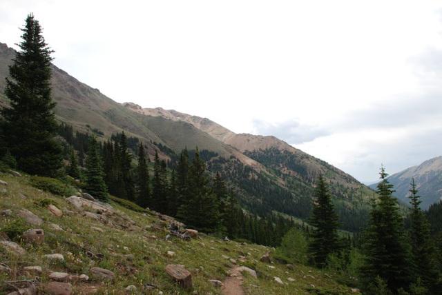 South Slopes of Mt. Massive