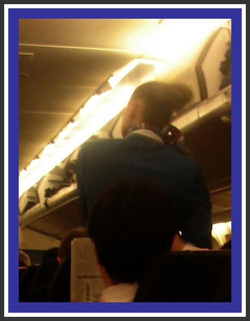 KLM Goddess / Une Déesse de KLM.