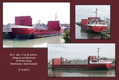 Jan V - Newhaven - 21.9.2013