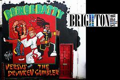 Brighton walls - PRINCE FATTY  - 2.4.2013