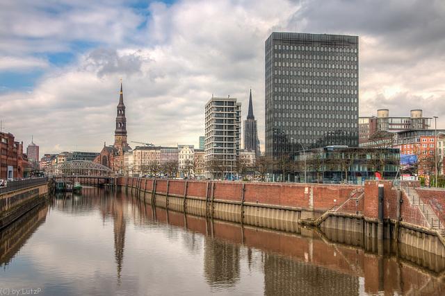 Zollkanal Hamburg
