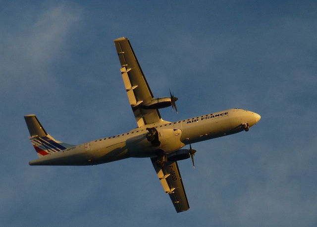 F-GPOD approaching Nice - 10 September 2013