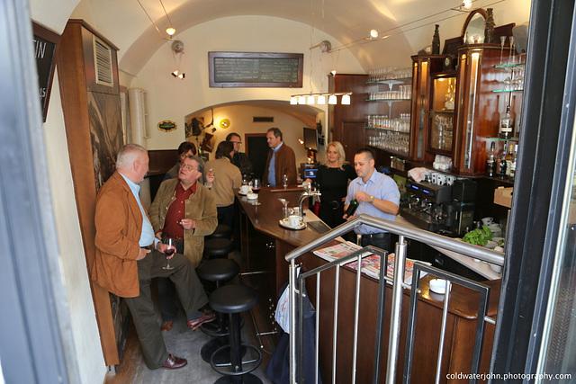 Aspirin Cafe, Hauptstrasse, Eisenstadt - Gabor and Nicki