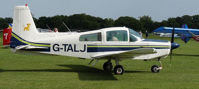 Grumman American AA-5 Traveler G-TALJ