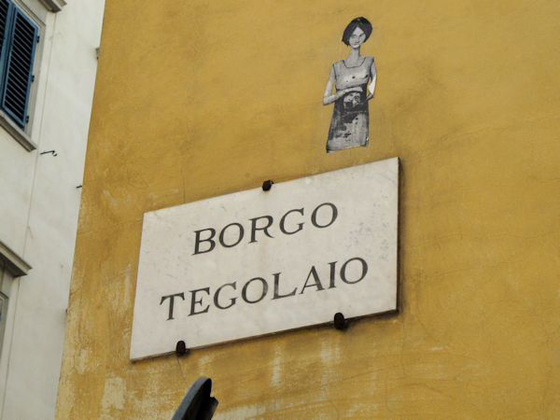Watching over the Borgo Tegolaio