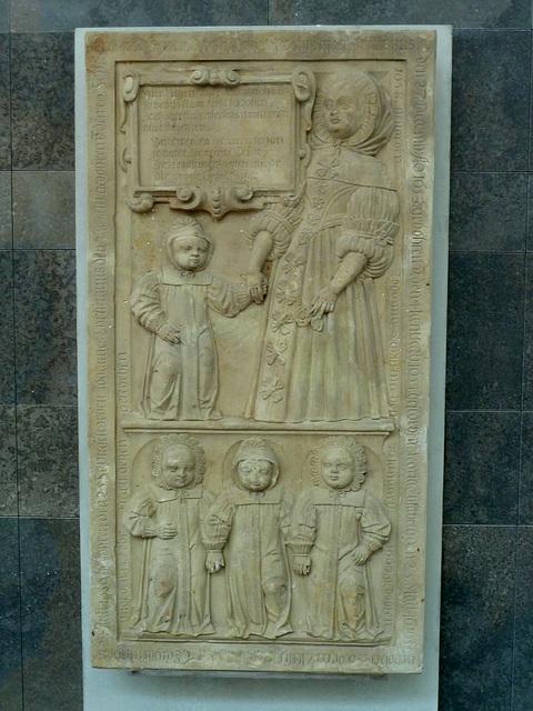 Leipzig 2013 – Gravestone from the Paulinerkirche