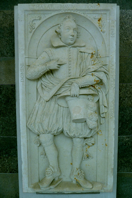 Leipzig 2013 – Gravestone from the Paulinerkirche
