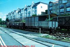 Bristol Docks Railway, Picture 3, Edited Version, Bristol, England (UK), 2012