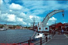 Crane on Bristol Docks, Edited Version, Bristol, England (UK), 2012