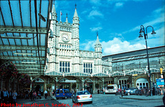 Bristol Temple Meads Station, Picture 2, Edited Version, Bristol, England (UK), 2012