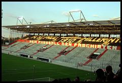 Gegengerade Millerntor-Stadion (FC St. Pauli, Hamburg, Deutschland)