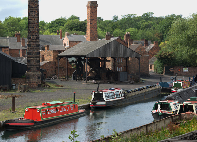Canal Boats, Black Country Living Museum