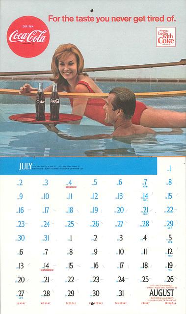 Coke JulyAug 1967