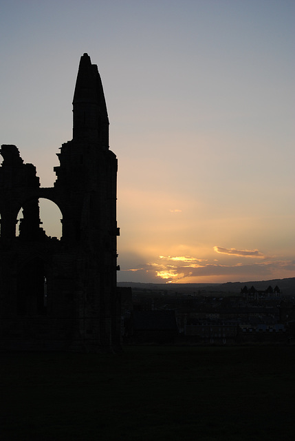 Sunset on the Abbey