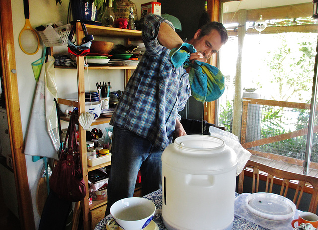 Ad making Hoegaarden home brew