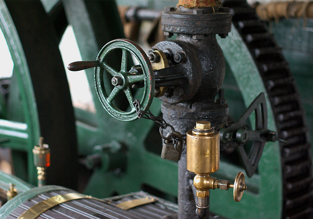 Steam Engine controls, Black Country Living Museum