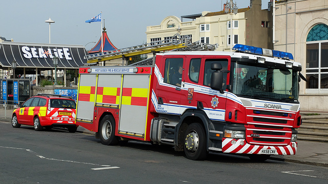 West Sussex Fire & Rescue (2) - 27 September 2013