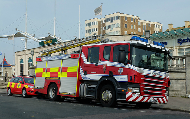 West Sussex Fire & Rescue (4) - 27 September 2013