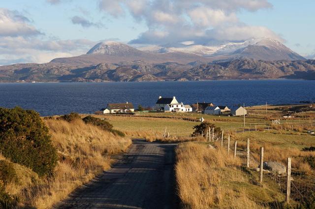 Udrigle Farmstead, Wester Ross, Scottish Highlands