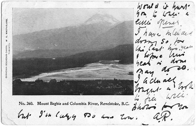 Mount Begbie and Columbia River, Revelstoke, B.C.