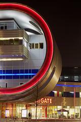 Berlin Marzahn. Eastgate. HDR