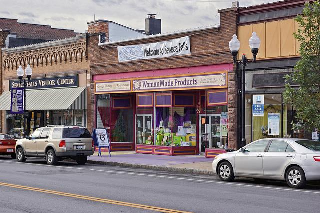 Feminist Tourism – Fall Street, Seneca Falls, New York