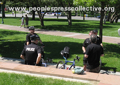 Police at DNC