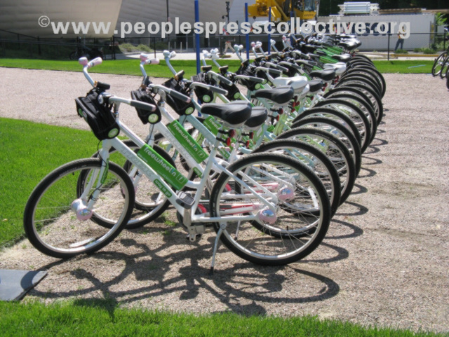Green Bicycles