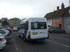 DSCF5958 HACT (Huntingdonshire Association for Community Transport) YS61 HCJ in Kimbolton - 18 Sep 2014