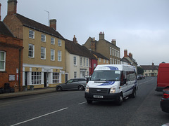 DSCF5957 HACT (Huntingdonshire Association for Community Transport) YS61 HCJ in Kimbolton - 18 Sep 2014