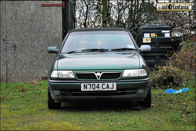 1996 Vauxhall Astra Mk3 Convertible - N704 CAJ