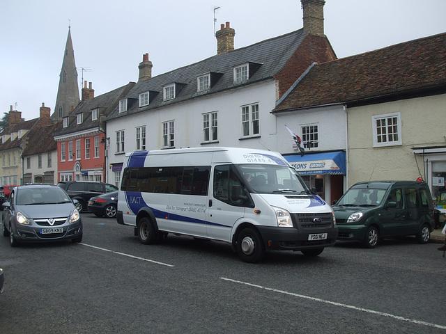 DSCF5954 HACT (Huntingdonshire Association for Community Transport) YS61 HCJ in Kimbolton - 18 Sep 2014
