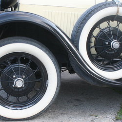 1929 Ford Model A Tires