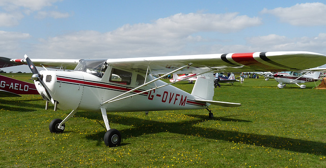 Cessna 120 G-OVFM