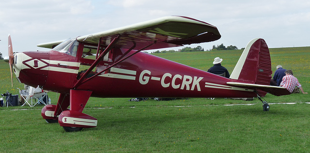 Luscombe 8A Silvaire G-CCRK