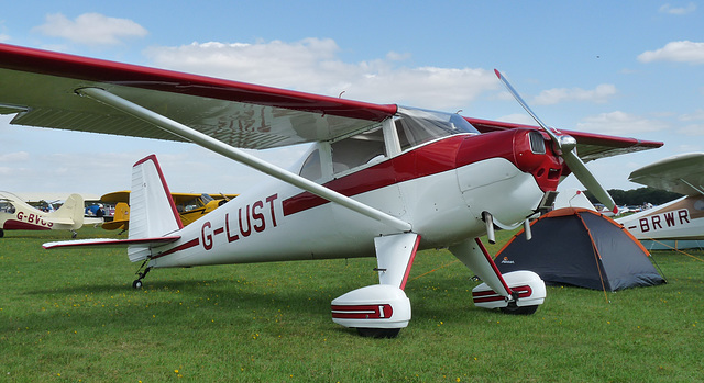 Luscombe 8E Silvaire Deluxe G-LUST