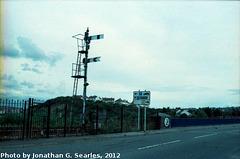 Semaphores on Barry Island, Edited Version, Glamorgan, Wales (UK), 2012
