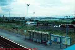Barry Station, Picture 2, Edited Version, Barry, Glamorgan, Wales (UK), 2012