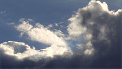 La tête dans les nuages.....