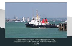 SD Powerful Portsmouth 31 5 2013
