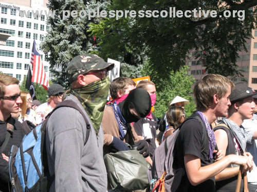 DNC Sunday - War Protest