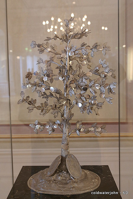 The Rothschild's Family Tree in sterling silver, in the Esterhazy Palace
