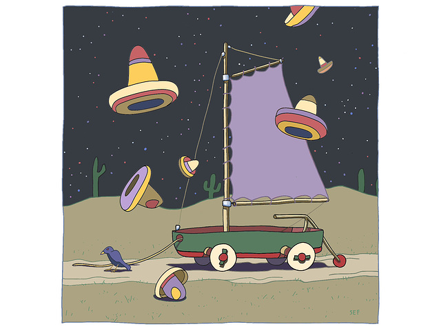 SOMBRERO FALLOUT/NIGHT, 2013