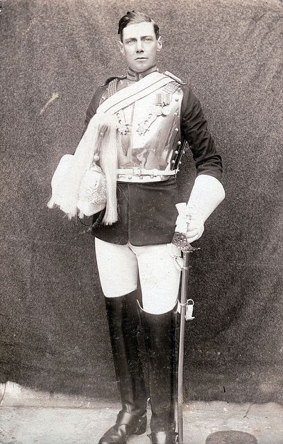 Cavalry Officer c1930