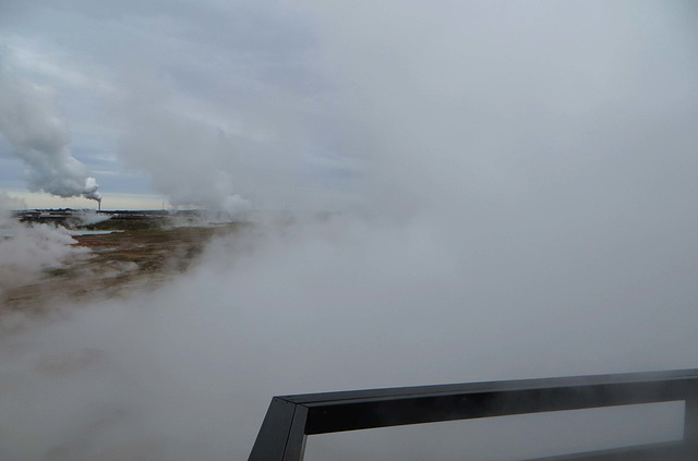 Gunnuhver, Iceland - mud pools and steam vents