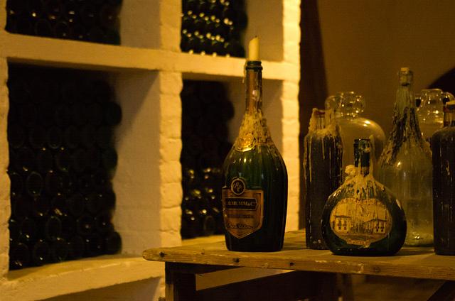 Wine cellar at Lacock Abbey