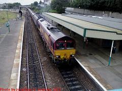 EWS #66128, Barry, Glamorgan, Wales (UK), 2012