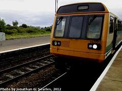 Arriva #142072, Barry, Glamorgan, Wales (UK), 2012